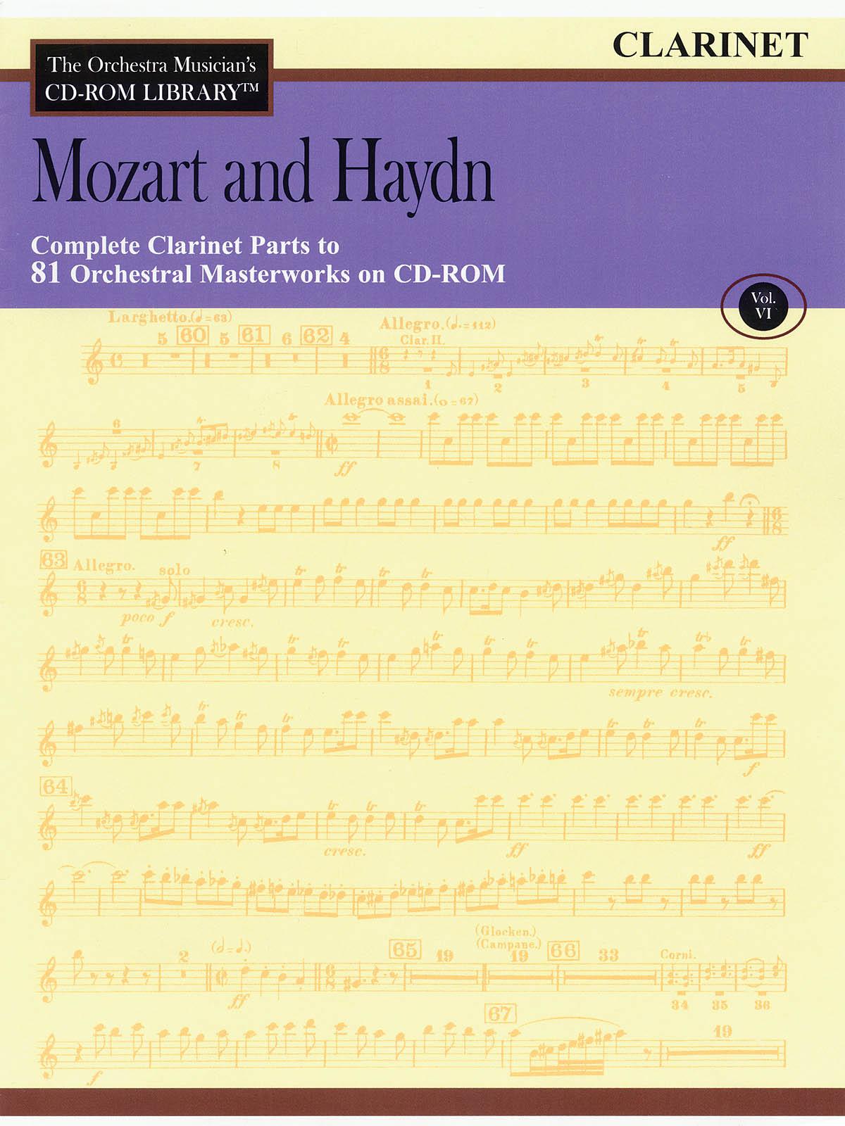 Franz Joseph Haydn Wolfgang Amadeus Mozart: Mozart and Haydn - Volume 6: