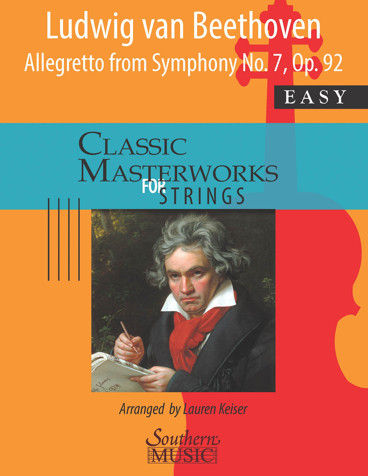 Allegretto from Symphony No. 7 Op. 92: String Orchestra: Score & Parts