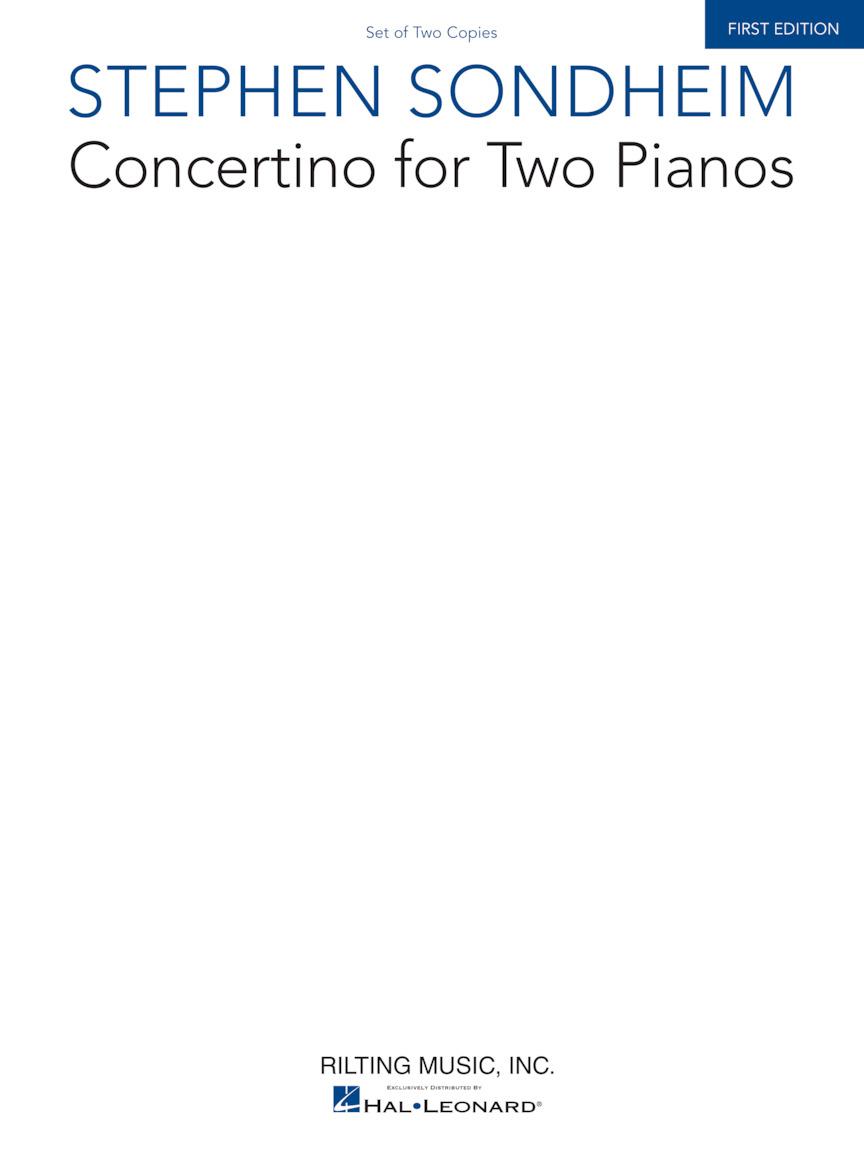 Stephen Sondheim: Concertino for Two Pianos: Piano Duet: Instrumental Album