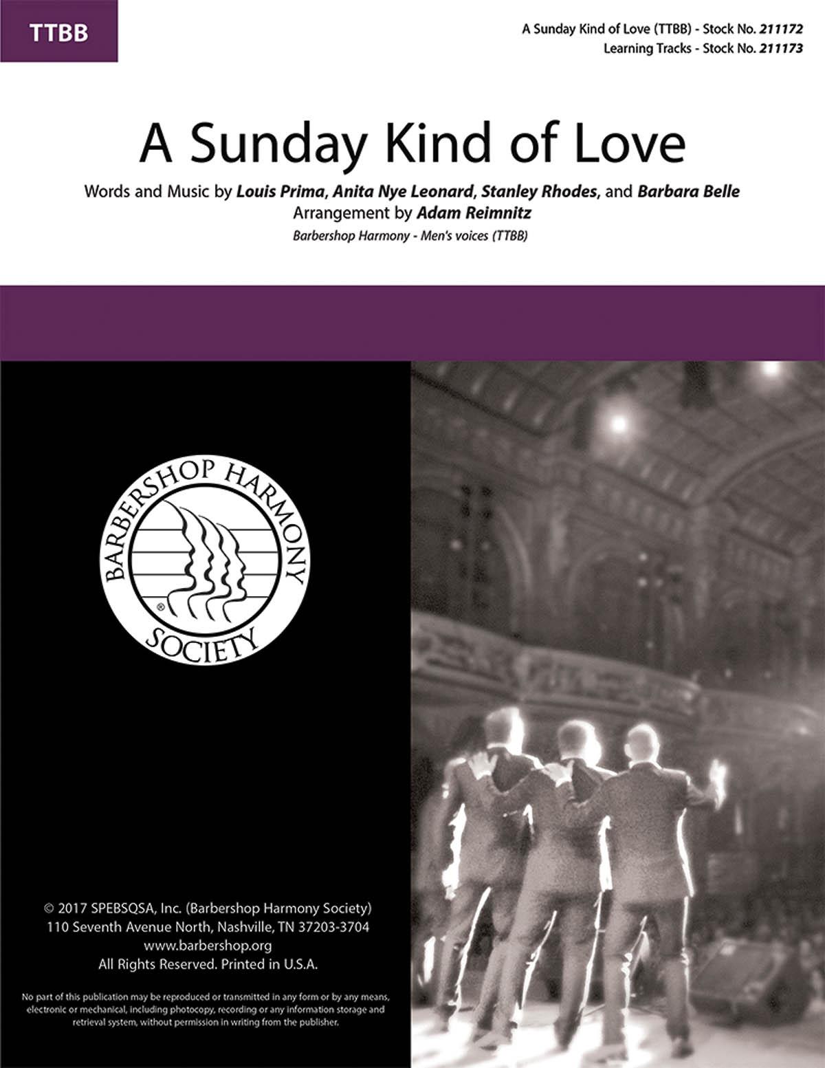 Anita Nye Leonard Louis Prima Stanley Rhodes: A Sunday Kind of Love: Lower