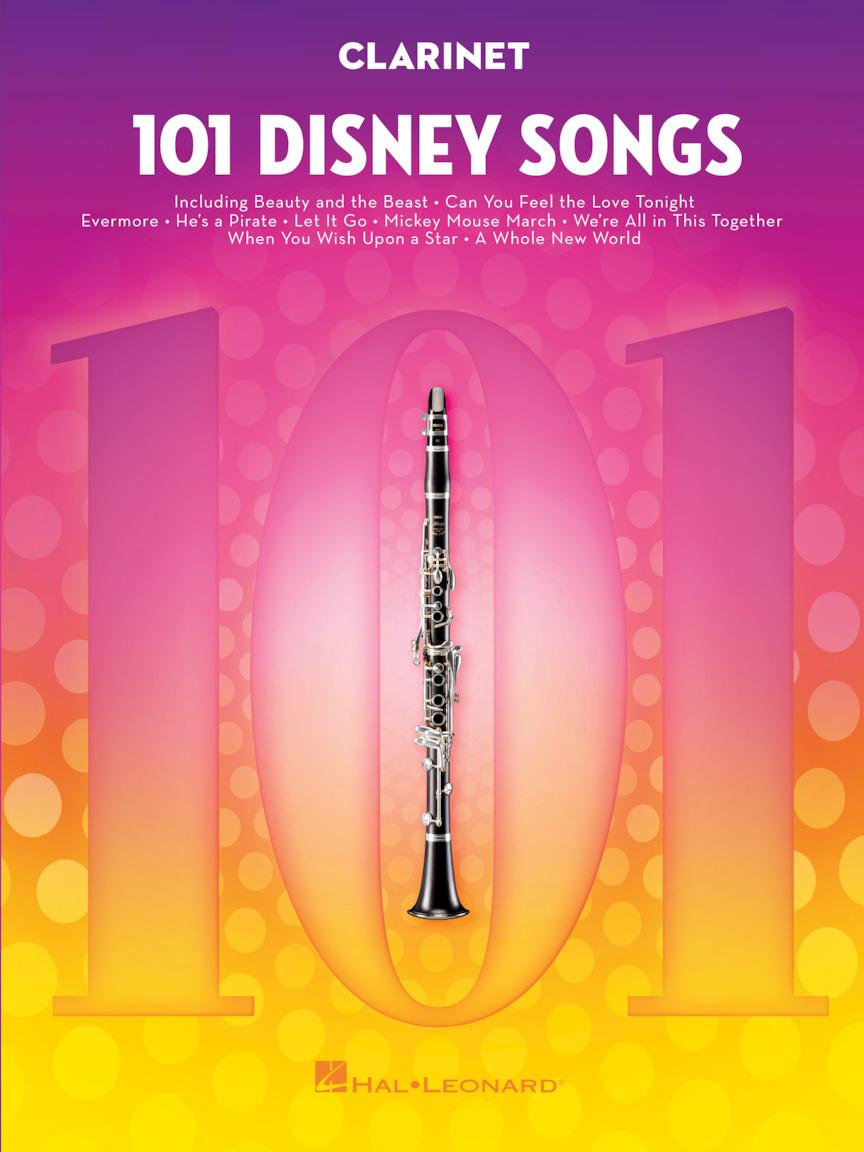 101 Disney Songs: Clarinet Solo: Instrumental Album