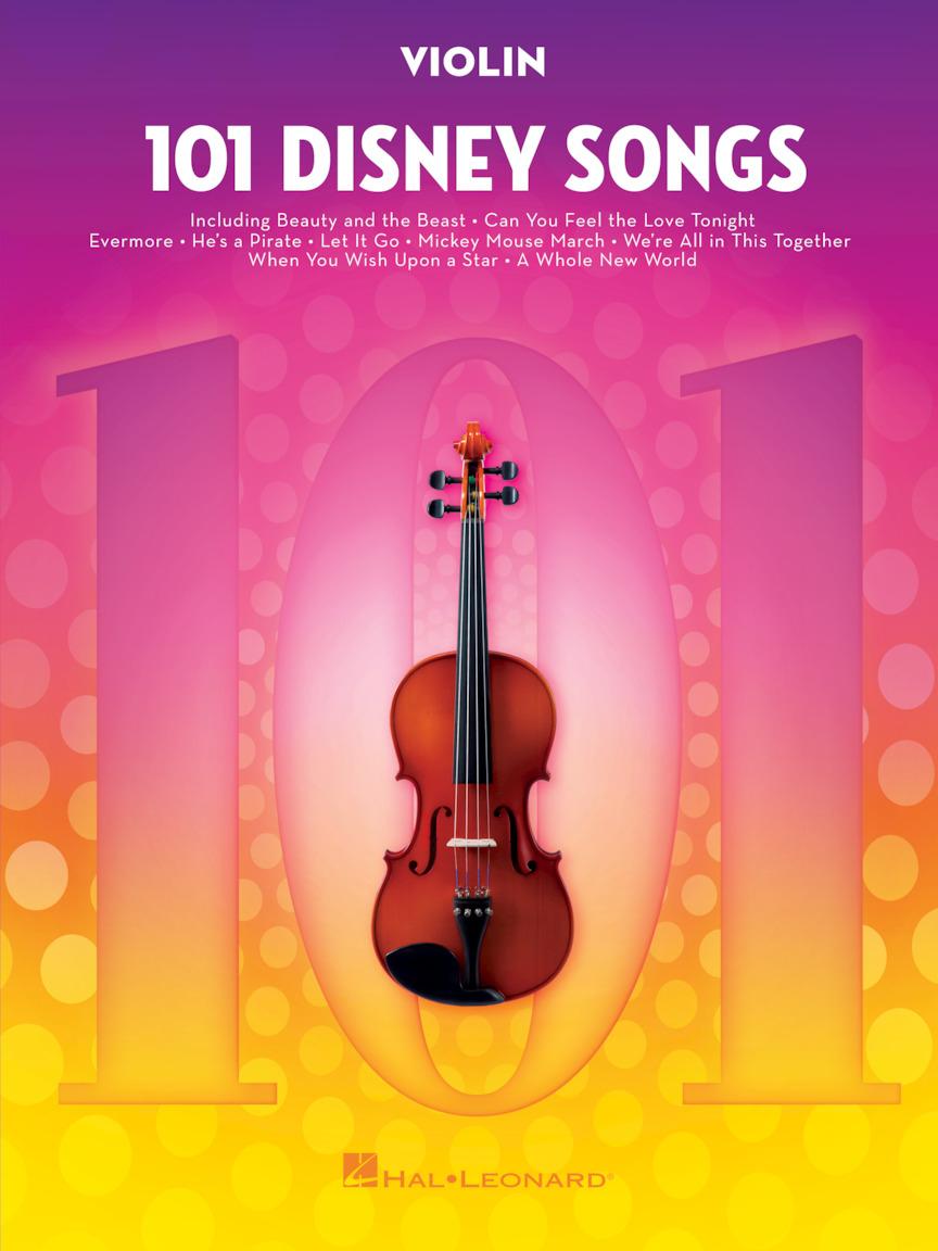 101 Disney Songs: Violin Solo: Instrumental Album