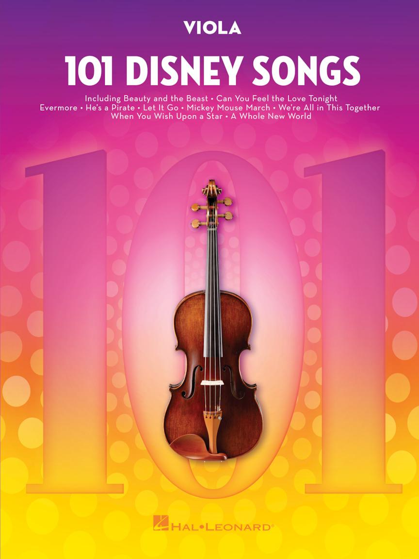 101 Disney Songs: Viola Solo: Instrumental Album