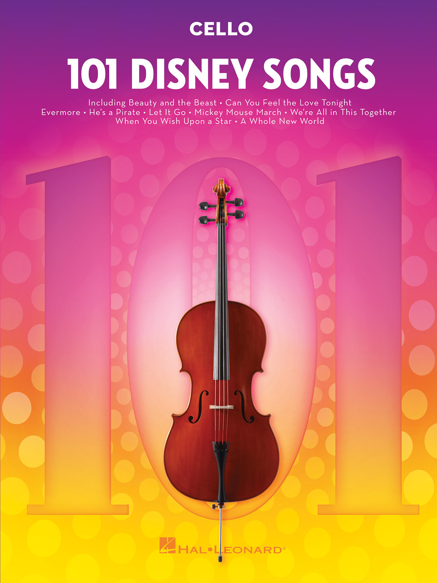 101 Disney Songs: Cello Solo: Instrumental Album