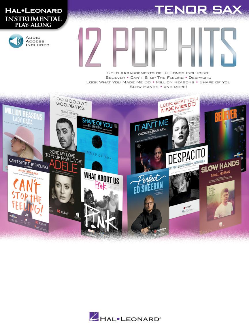 12 Pop Hits: Tenor Saxophone: Instrumental Album