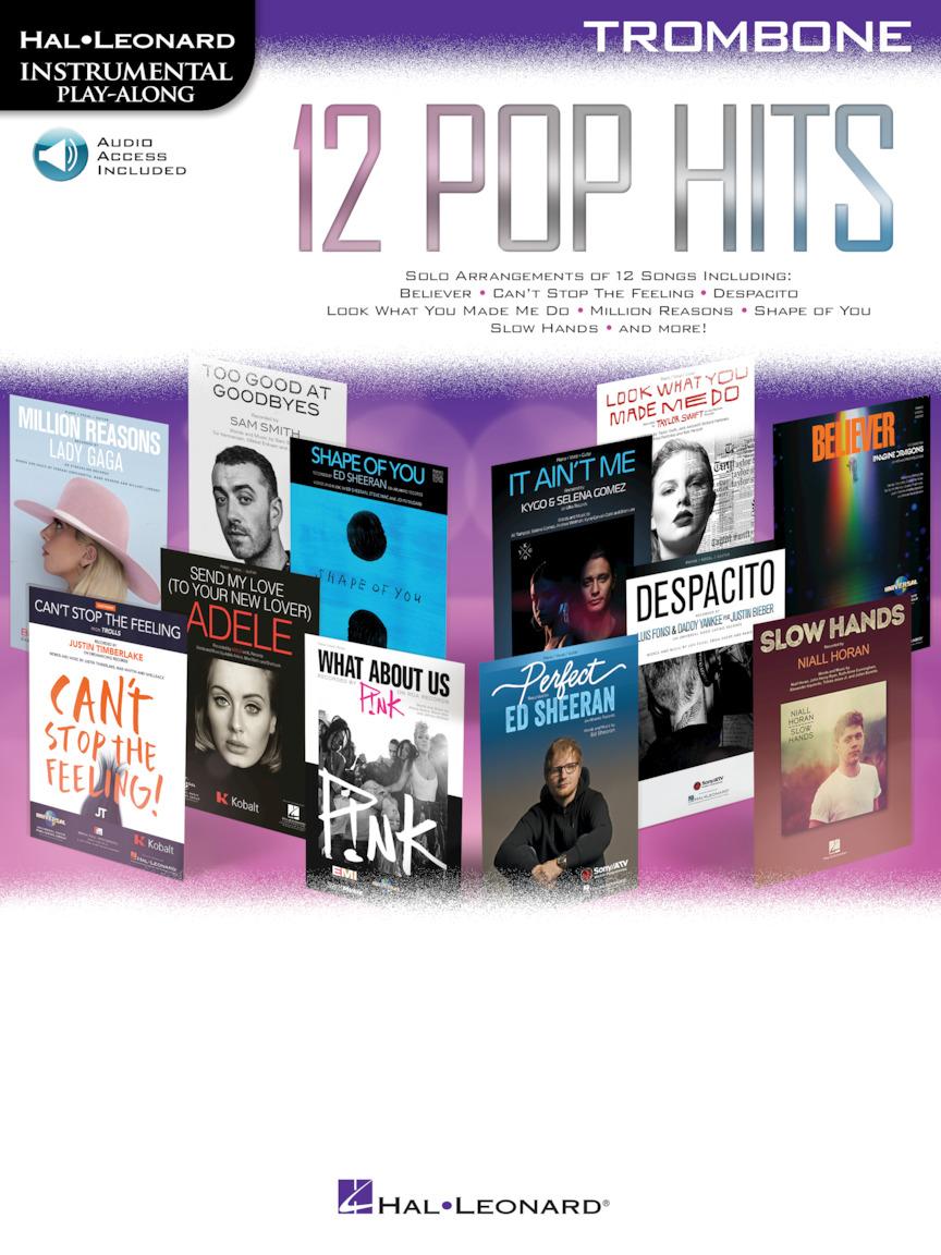 12 Pop Hits: Trombone Solo: Instrumental Album