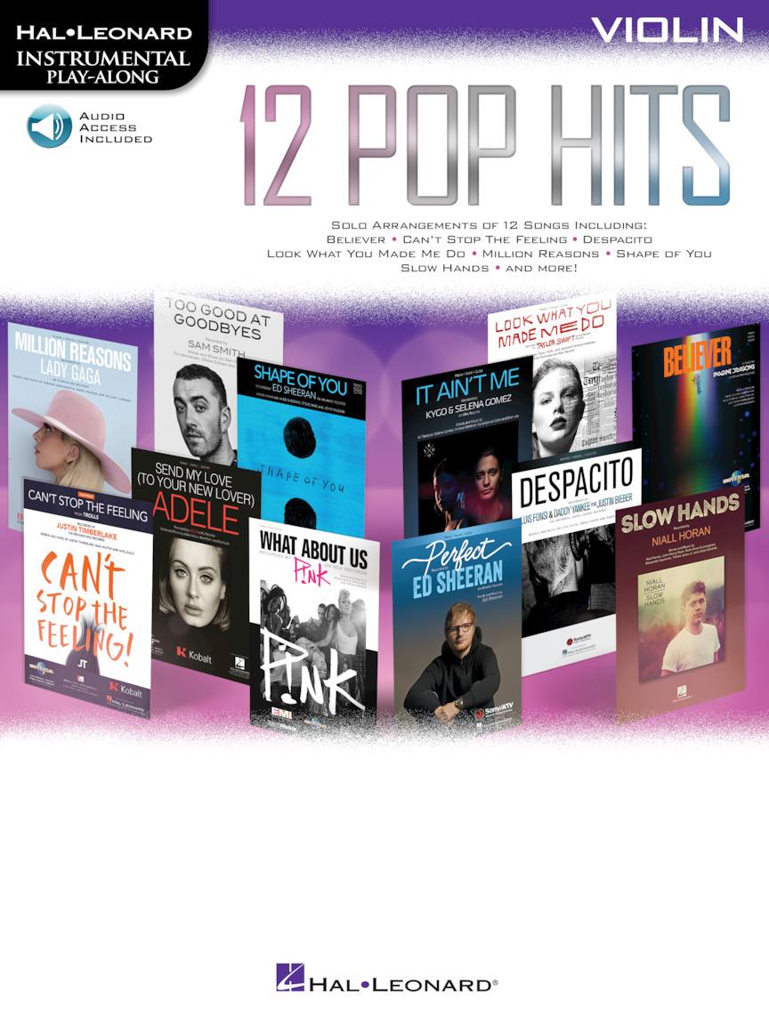 12 Pop Hits: Violin Solo: Instrumental Album