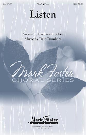 Dale Trumbore: Listen: Upper Voices a Cappella: Vocal Score