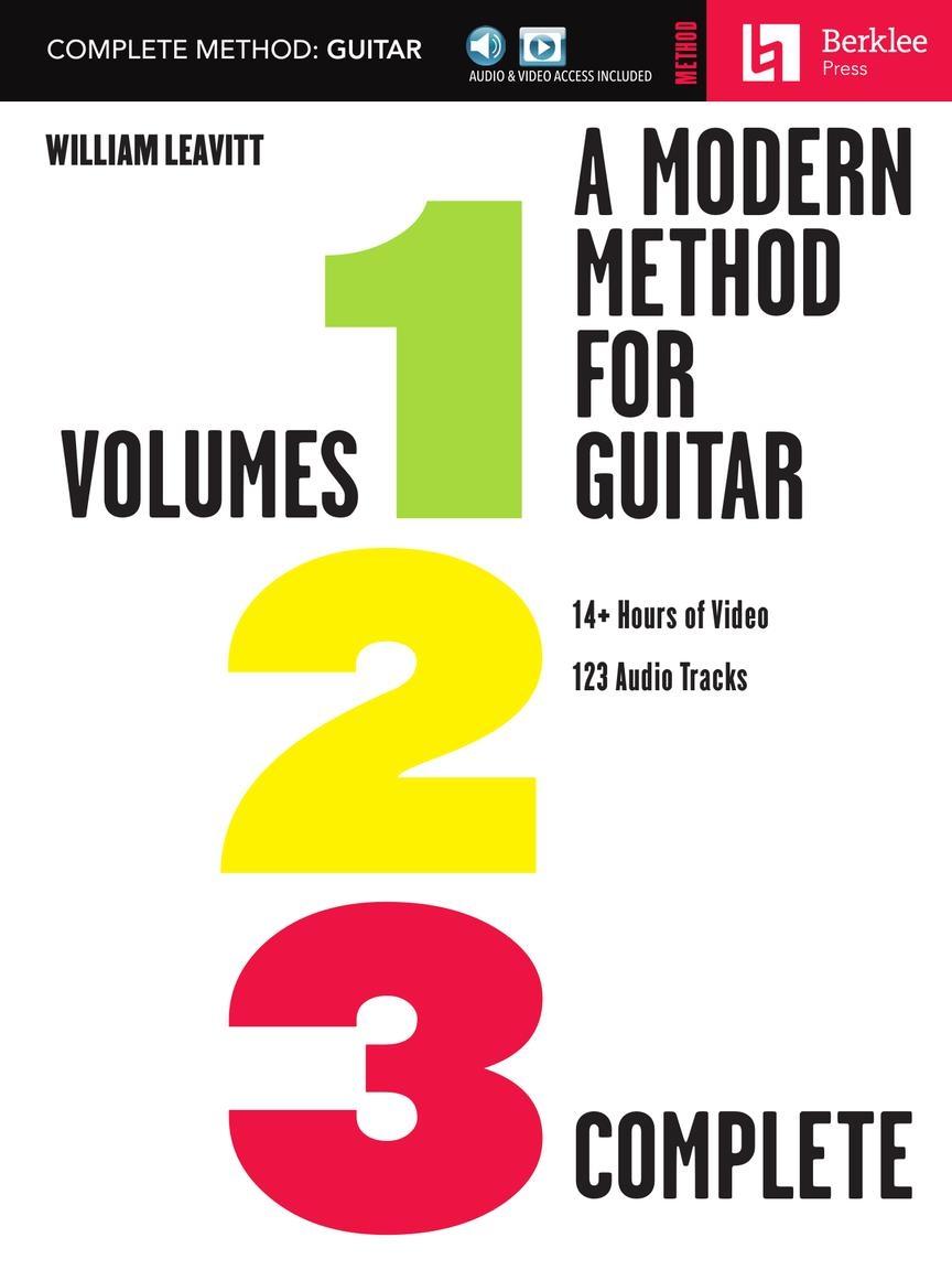 A Modern Method for Guitar - Complete Method: Guitar Solo: Instrumental Tutor
