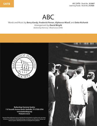 Alphonso Mizell Berry Gordy Deke Richards Frederick Perren: ABC: Mixed Choir a