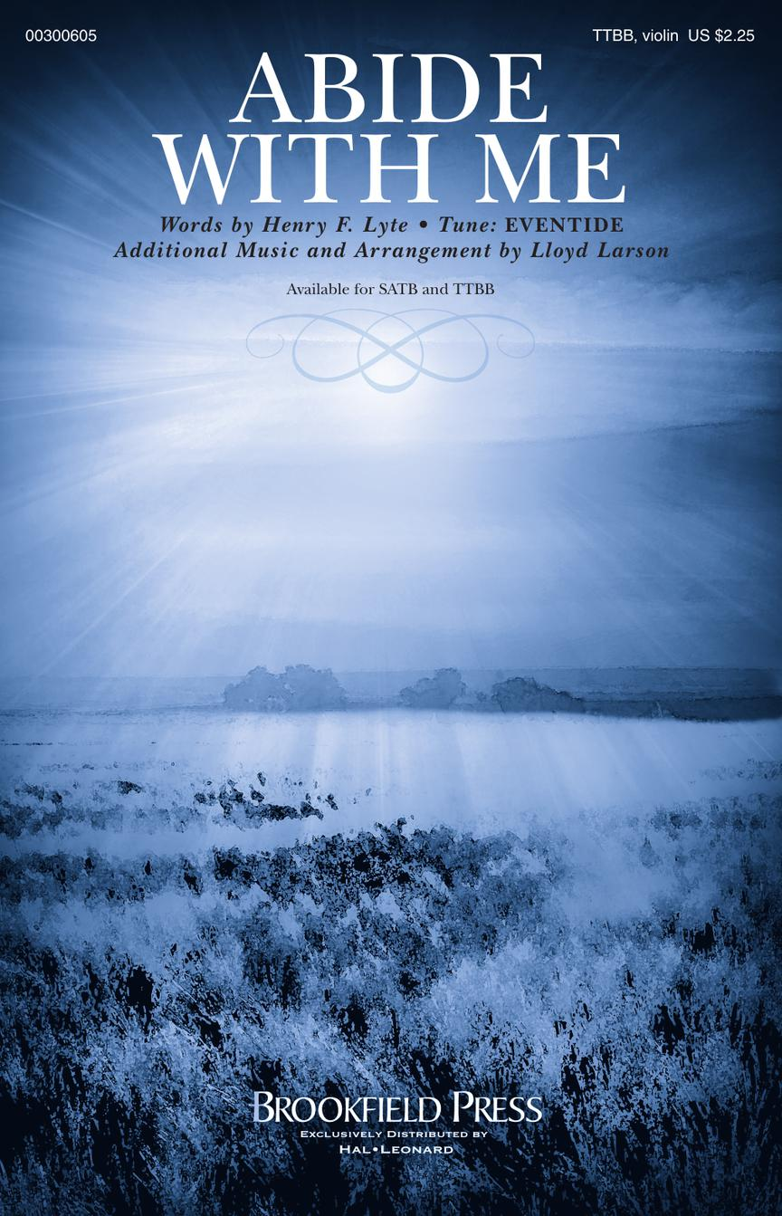Abide with Me: Lower Voices a Cappella: Vocal Score