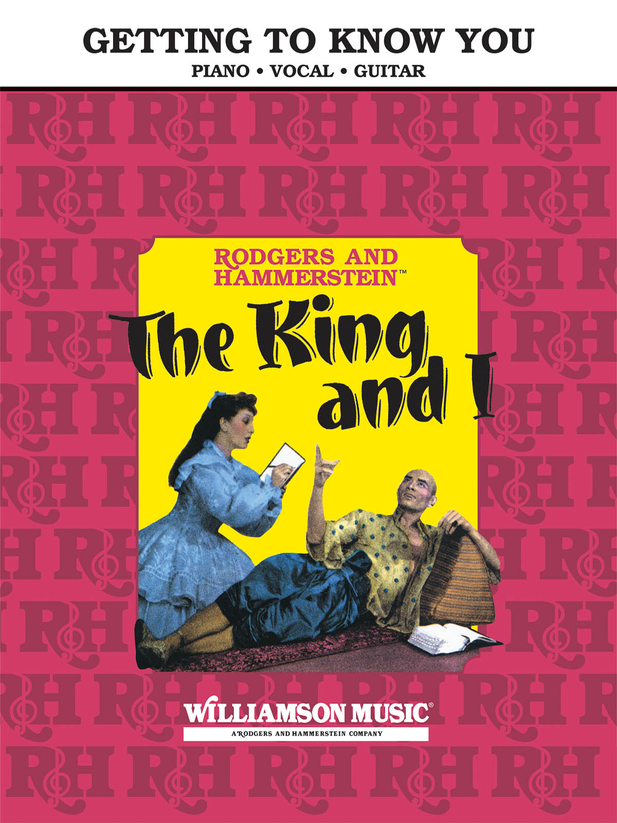 Getting to Know You From The King and I: Piano Vocal and Guitar: Single Sheet