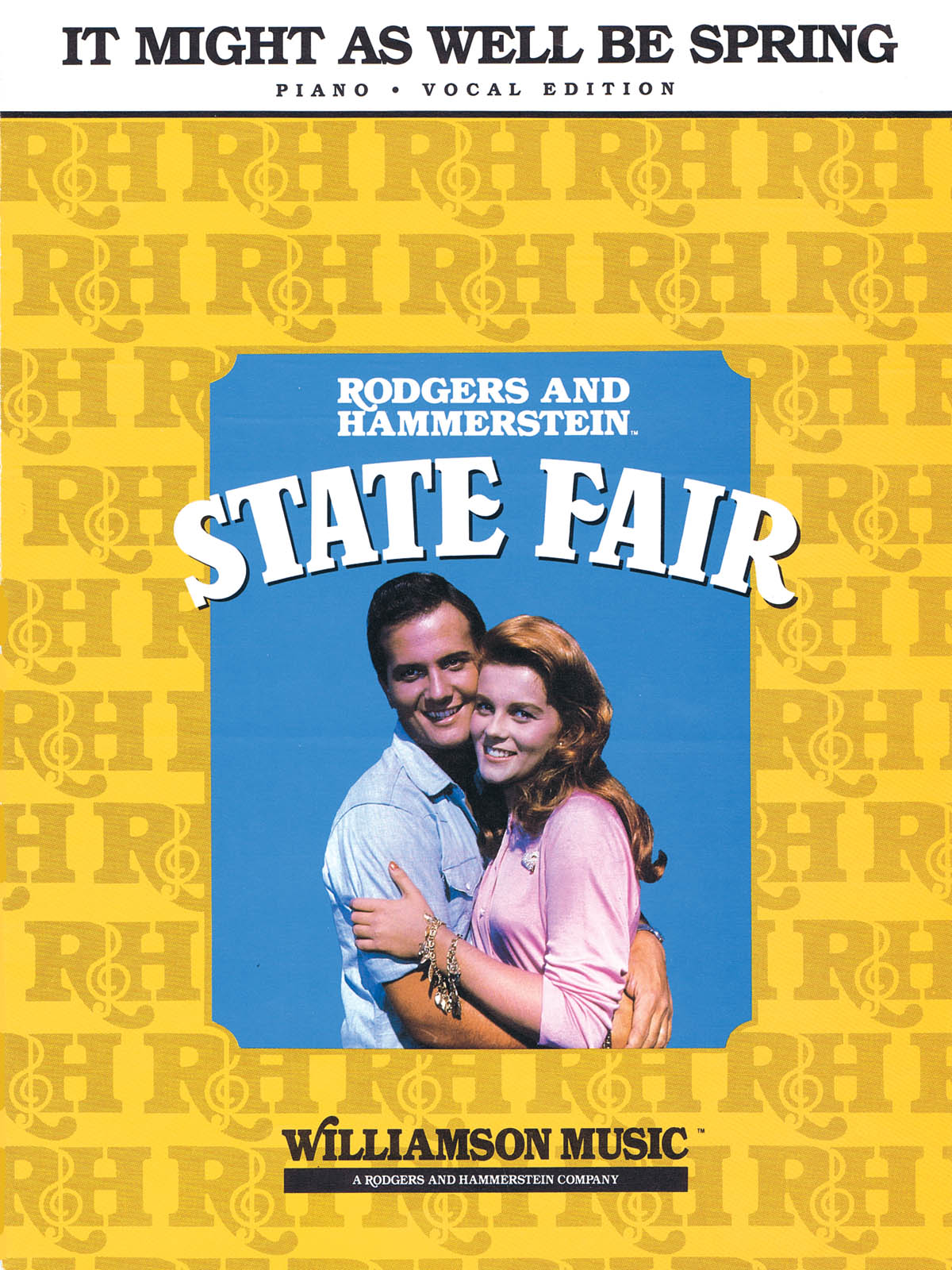 It Might as Well Be Spring (from State Fair): Piano Vocal and Guitar: Mixed