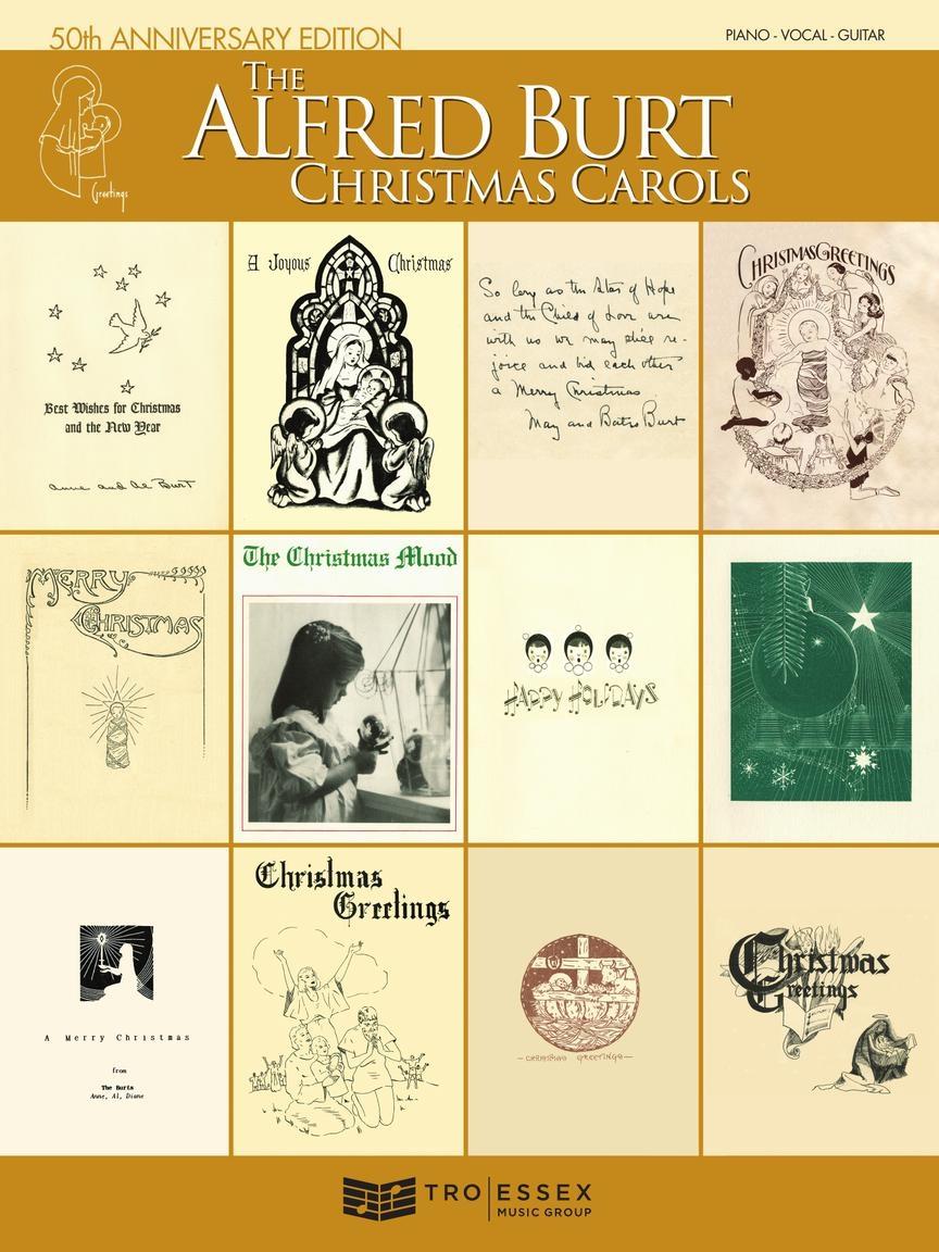 Alfred Burt: The Alfred Burt Christmas Carols: Piano Vocal and Guitar: Mixed