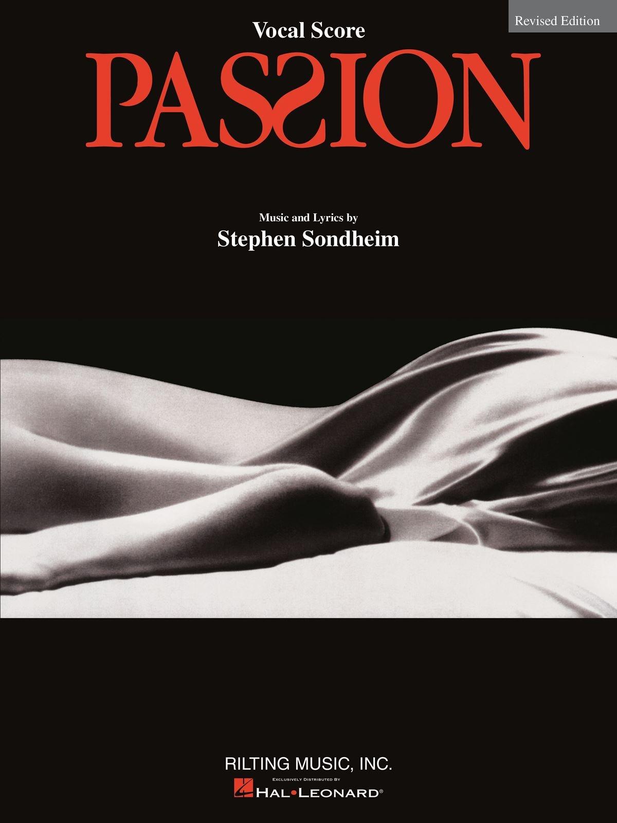 Stephen Sondheim: Passion: Vocal Solo: Vocal Score
