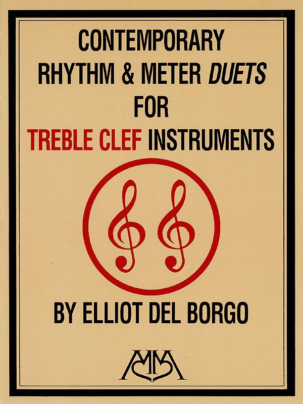 Elliot del Borgo: Contemporary Rhythm and Meter Duets: TC/BC Instrument: