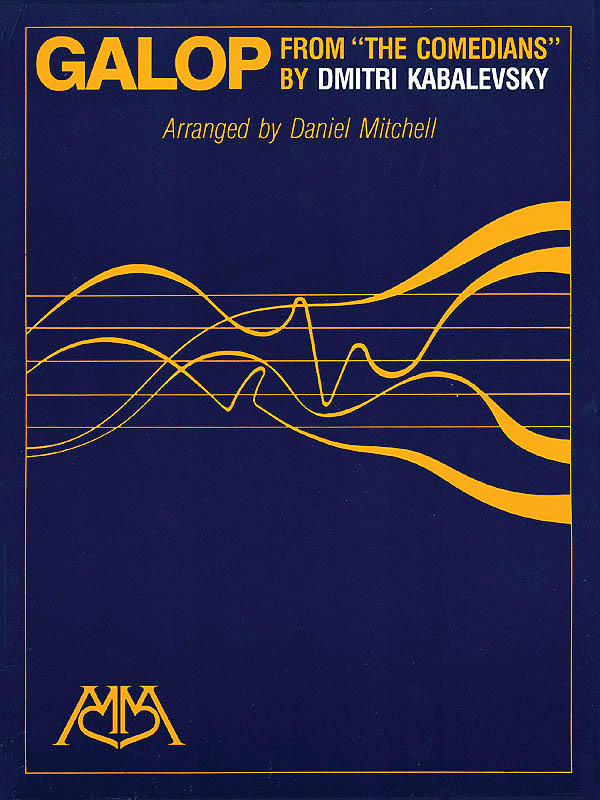 Dmitri Kabalevsky: Galop: Concert Band and Solo: Score
