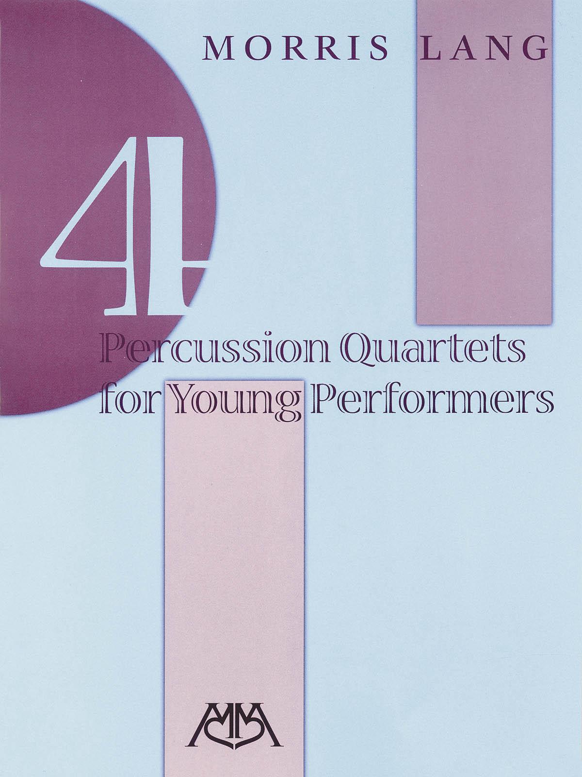 4 Percussion Quartets for Young Performers: Percussion Ensemble: Score & Parts