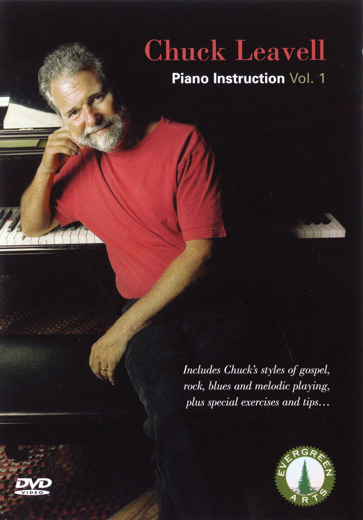 Chuck Leavell: Chuck Leavell - Piano Instruction Vol. 1: Piano: DVD