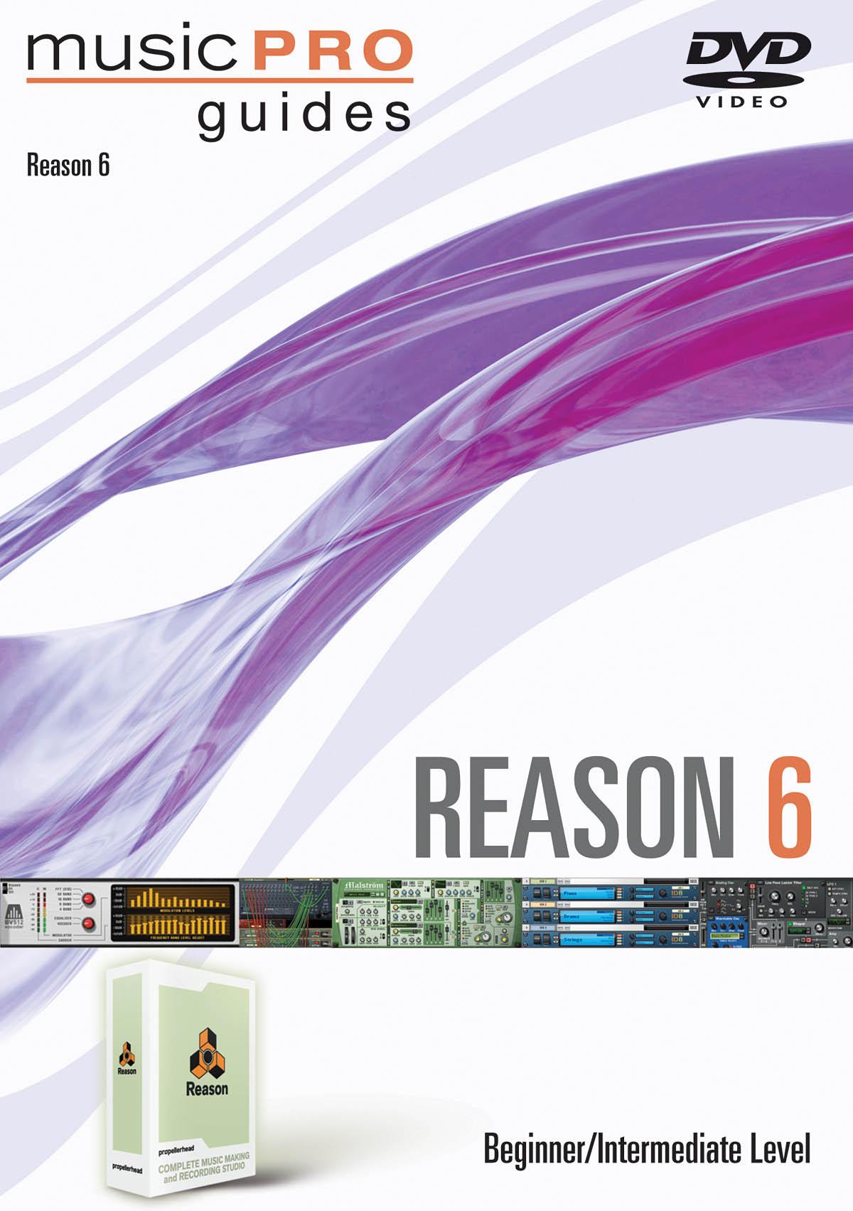 Reason 6 DVD ( Beginner-Intermediate ): Reference Books: DVD