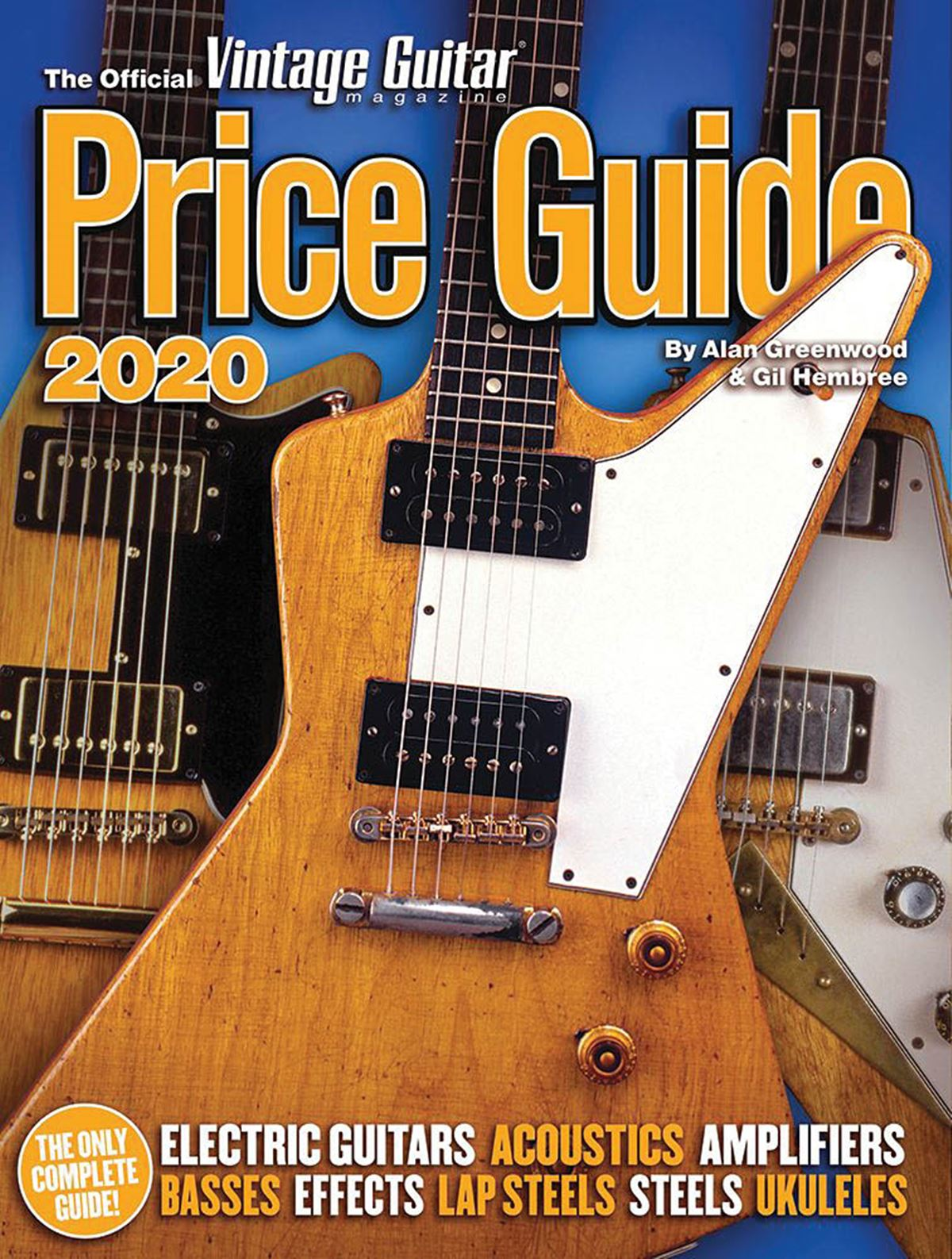 2020 Official Vintage Guitar Magazine Price Guide: Reference Books: Instrumental