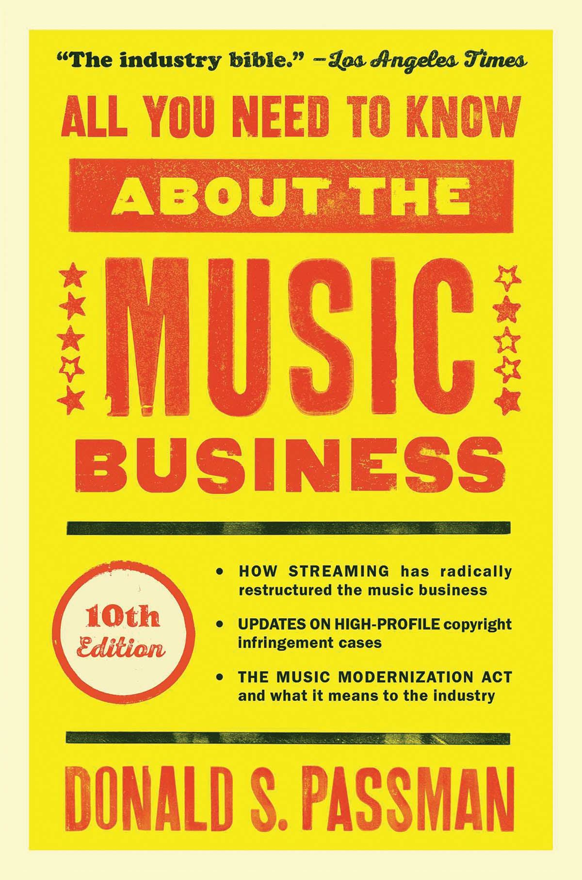 All You Need to Know About the Music Business: Reference Books: Reference