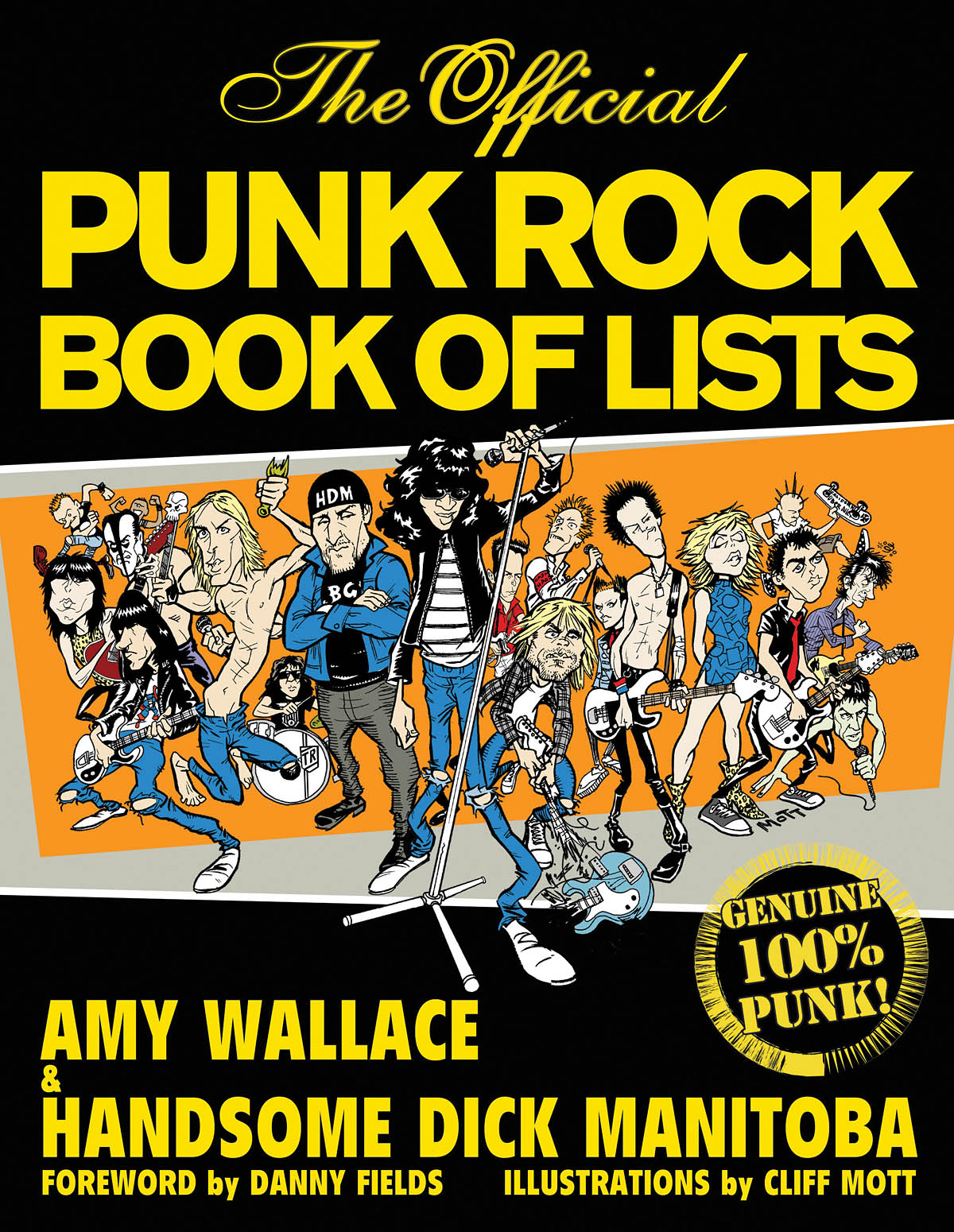 The Official Punk Rock Book Of Lists: Reference Books