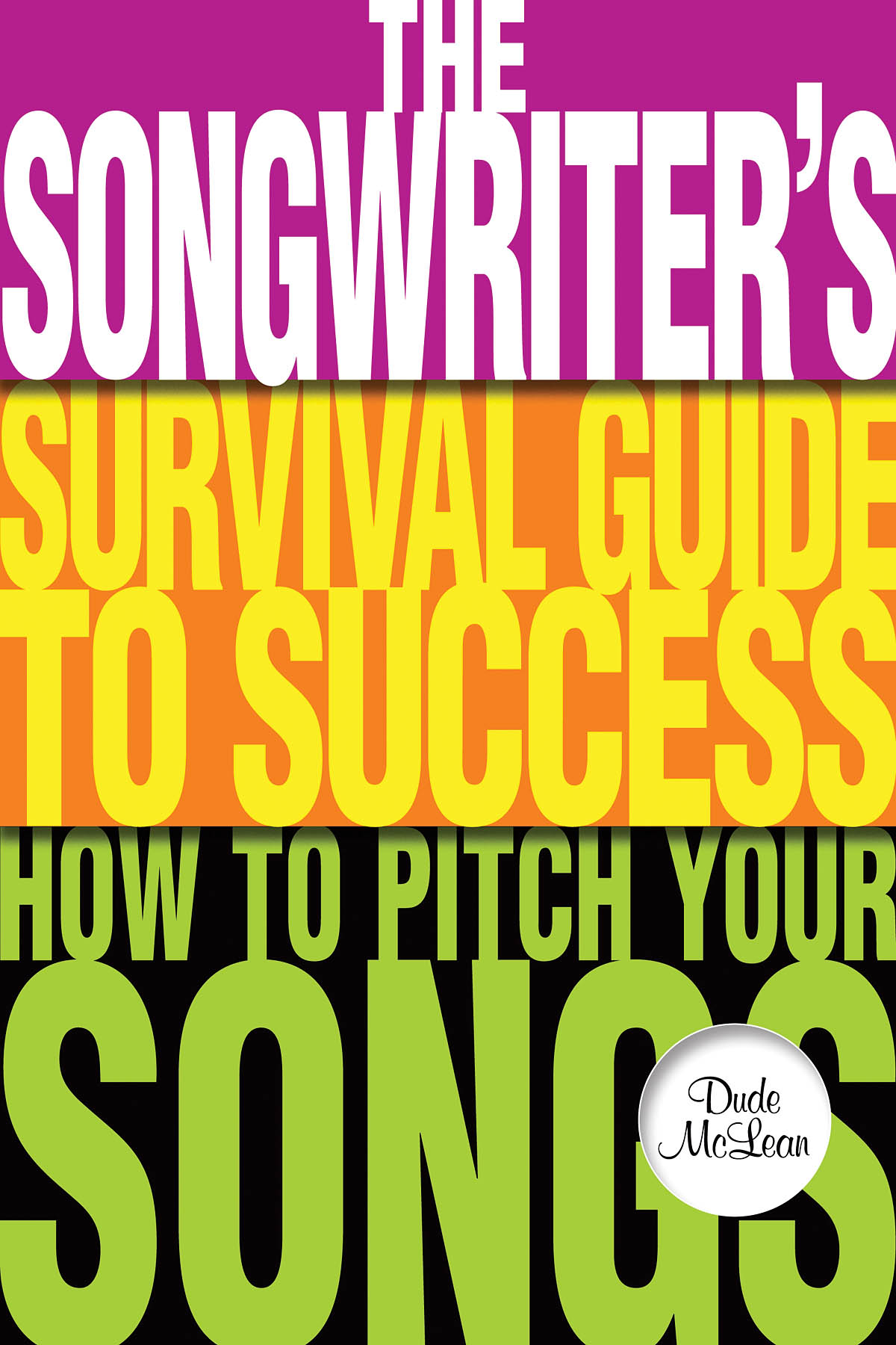 The Songwriters Survival Guide To Success: Reference Books