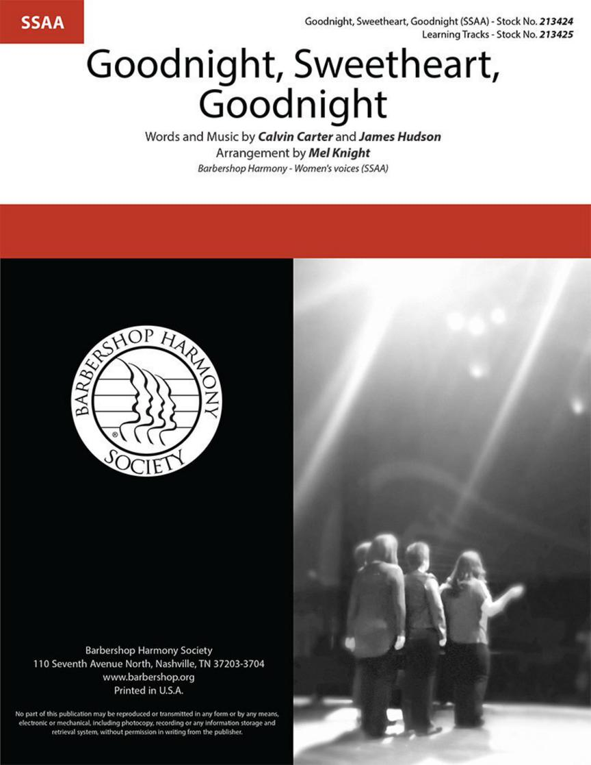 Calvin Carter James Hudson: Goodnight Sweetheart Goodnight: Upper Voices a