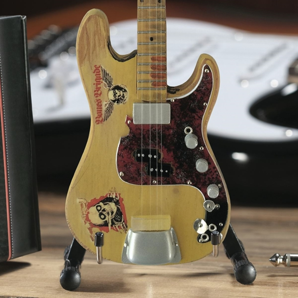 Billy Sheehan The Wife Fender Precision Mini Bass: Ornament