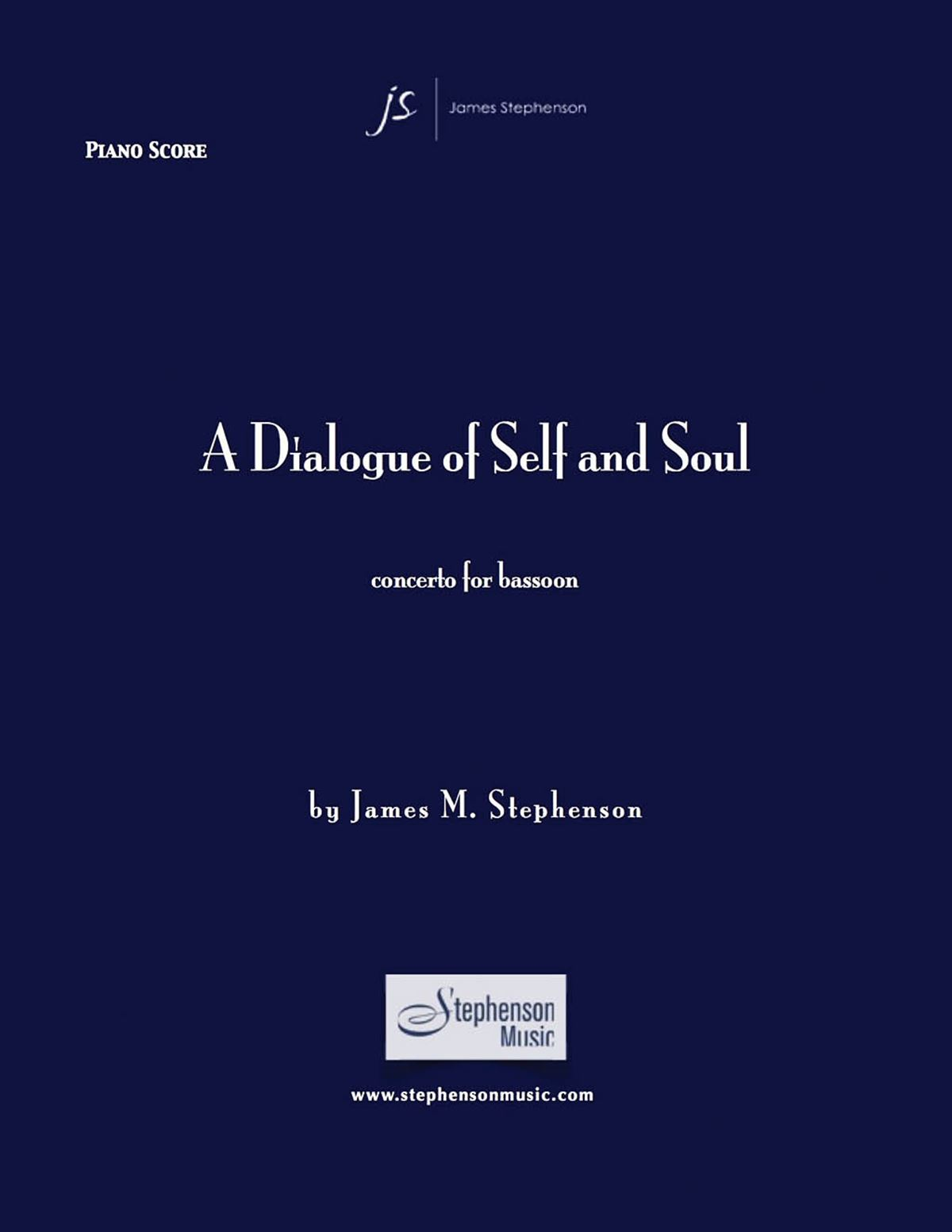 Jim Stephenson: A Dialogue Of Self And Soul: Wind Ensemble: Instrumental Work