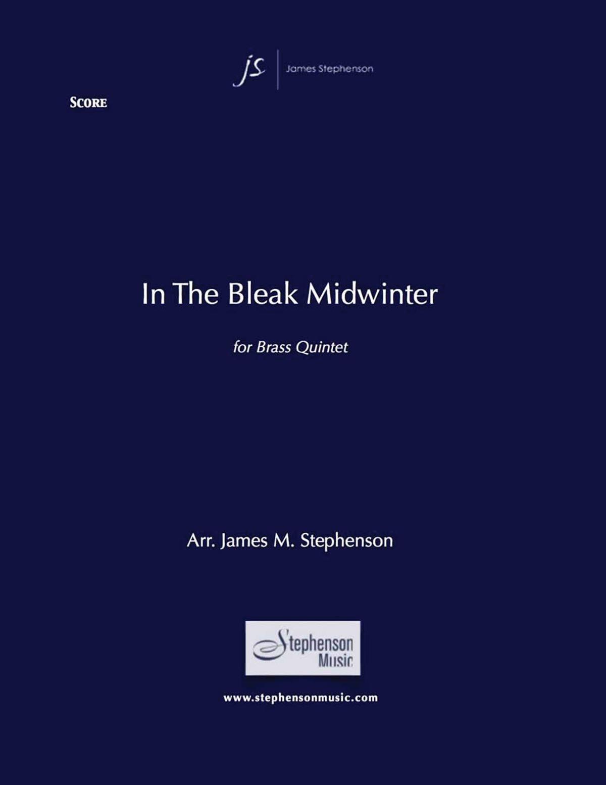 Gustav Holst: In the Bleak Midwinter: Brass Ensemble: Score and Parts