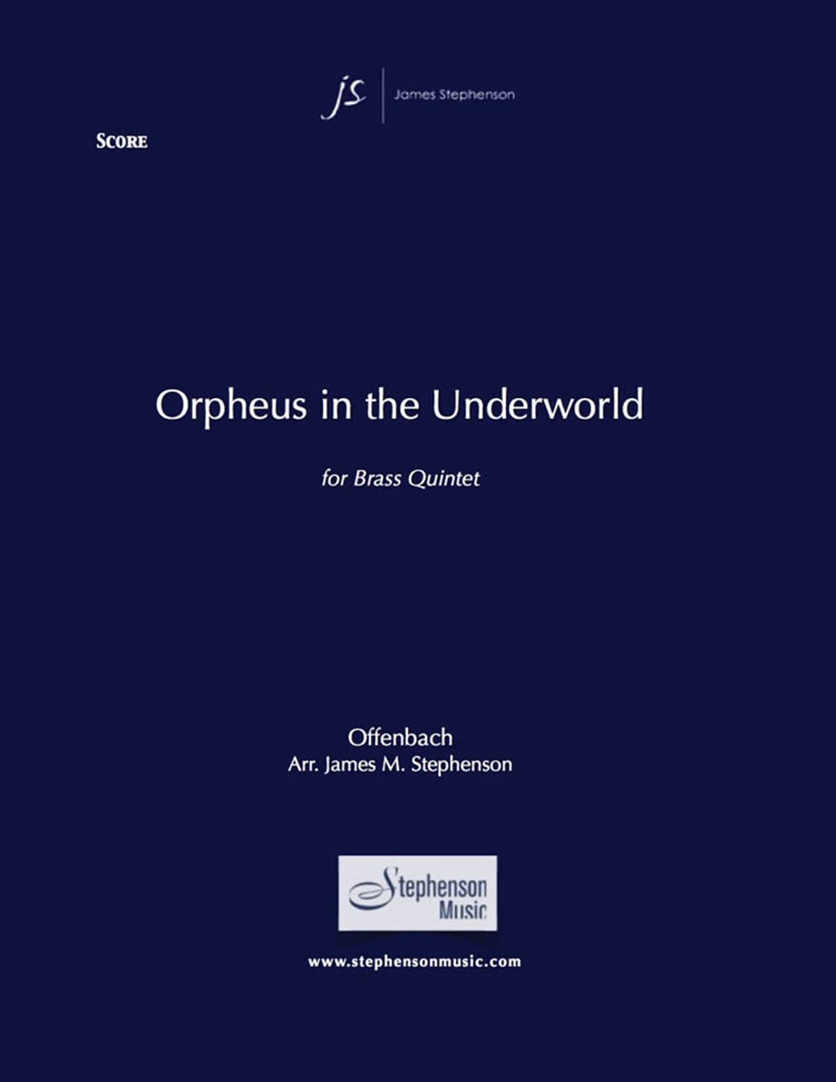 Jacques Offenbach: Orpheus In The Underworld: Brass Ensemble: Score and Parts