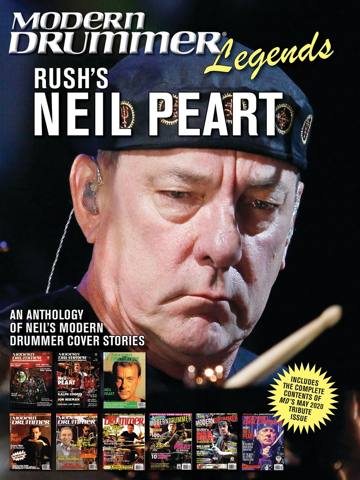 Neil Peart: Modern Drummer Legends: Rush