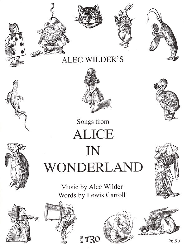 Alec Wilder: Alice in Wonderland: Vocal and Piano: Mixed Songbook