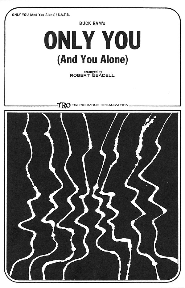 Ande Rand Buck Ram: Only You (And You Alone): Mixed Choir a Cappella: Vocal