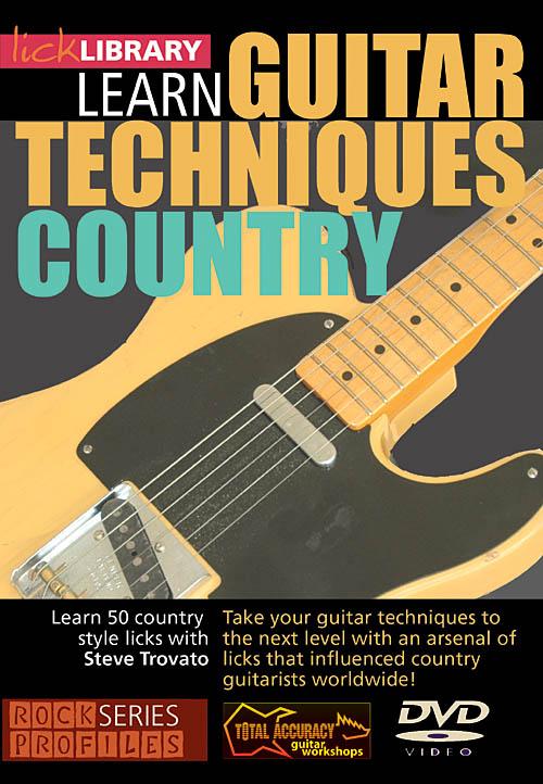 Albert Lee Steve Trovato: Learn Guitar Techniques: Country: Guitar Solo: DVD