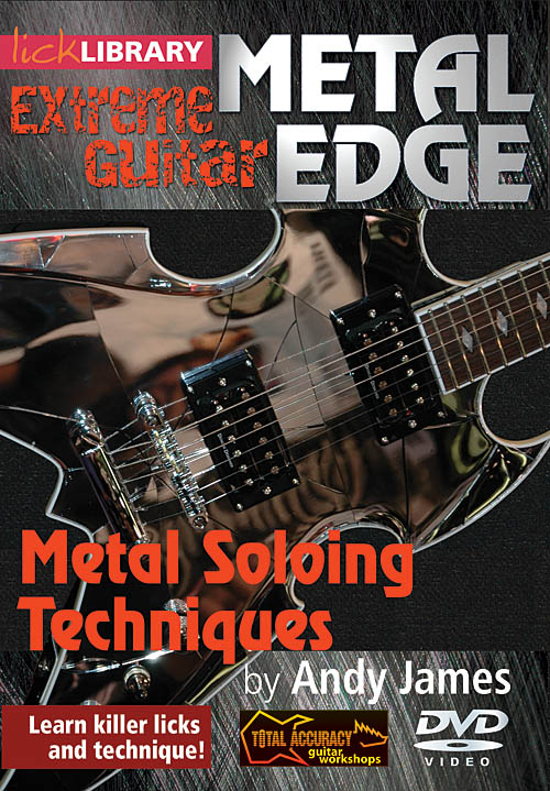 Andy James: Metal Soloing Techniques: Guitar Solo: DVD