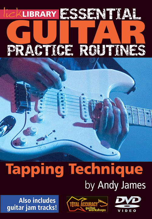 Andy James: Tapping Technique: Guitar Solo: DVD