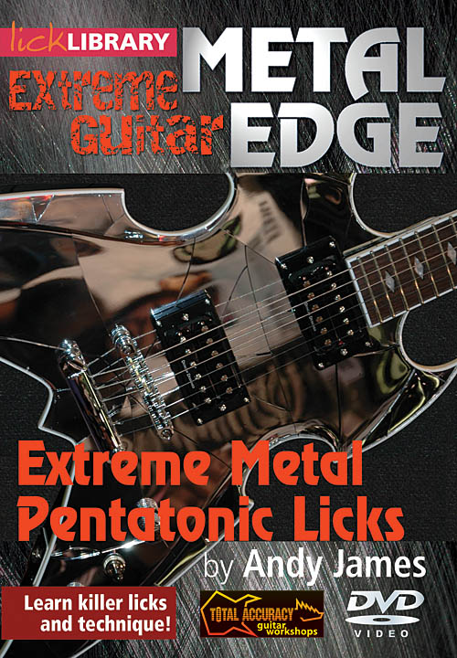Andy James: Extreme Metal Pentatonic Licks: Guitar Solo: DVD