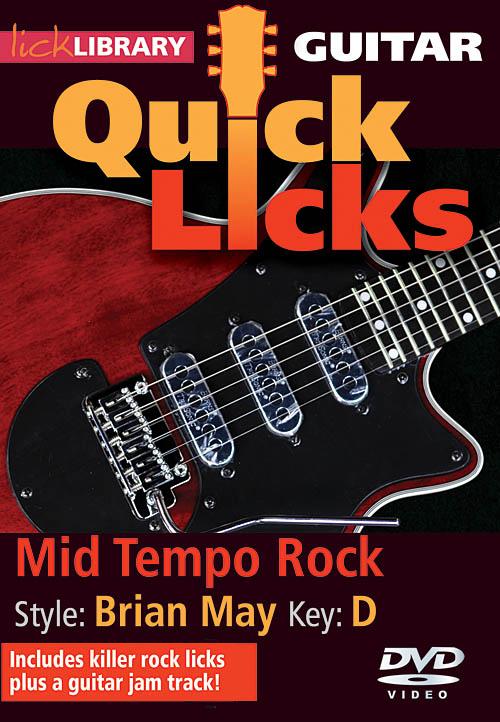 Brian May: Mid Tempo Rock - Quick Licks: Guitar Solo: DVD