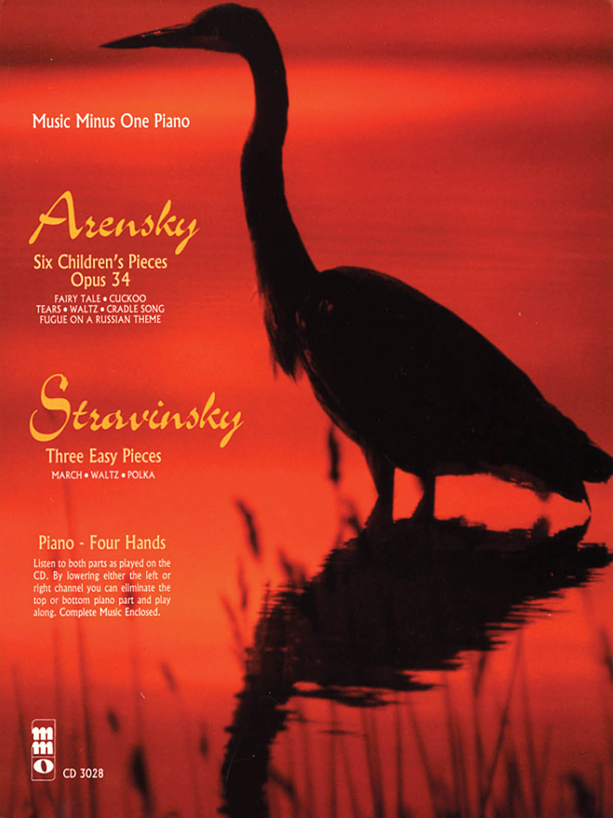 Anton Stepanovich Arensky Igor Stravinsky: 6 Pieces Enfantines Op. 34: Piano