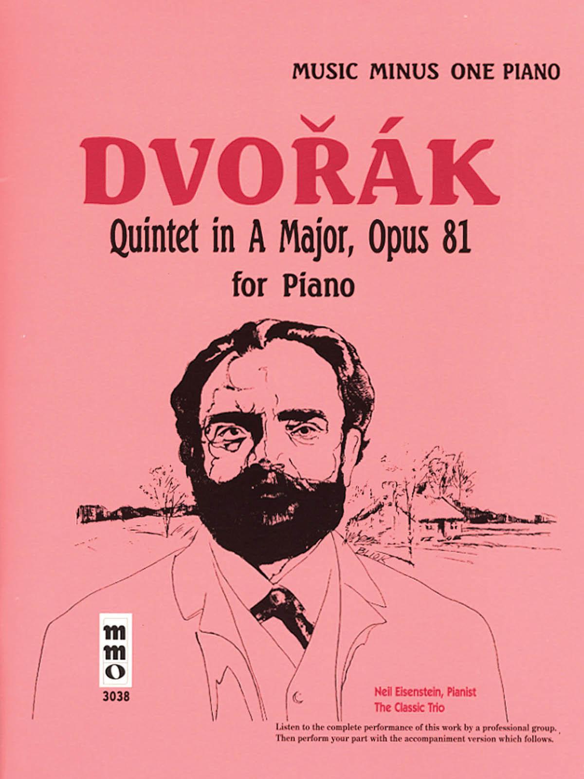 Antonín Dvořák: Dvorak - Quintet in A Major Op. 81: Piano: Instrumental Album