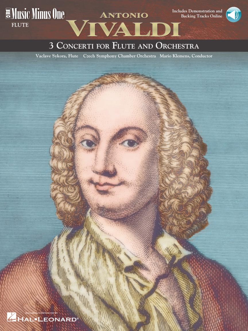 Antonio Vivaldi: 3 Concerti for Flute & Orchestra: Flute Solo: Instrumental