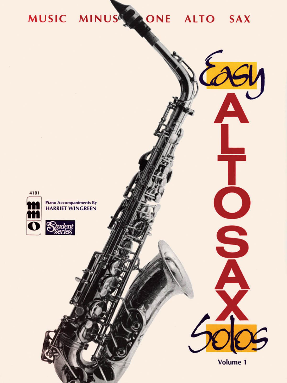 Alto Saxophone Solos: Student Edition Vol. I: Alto Saxophone: Instrumental