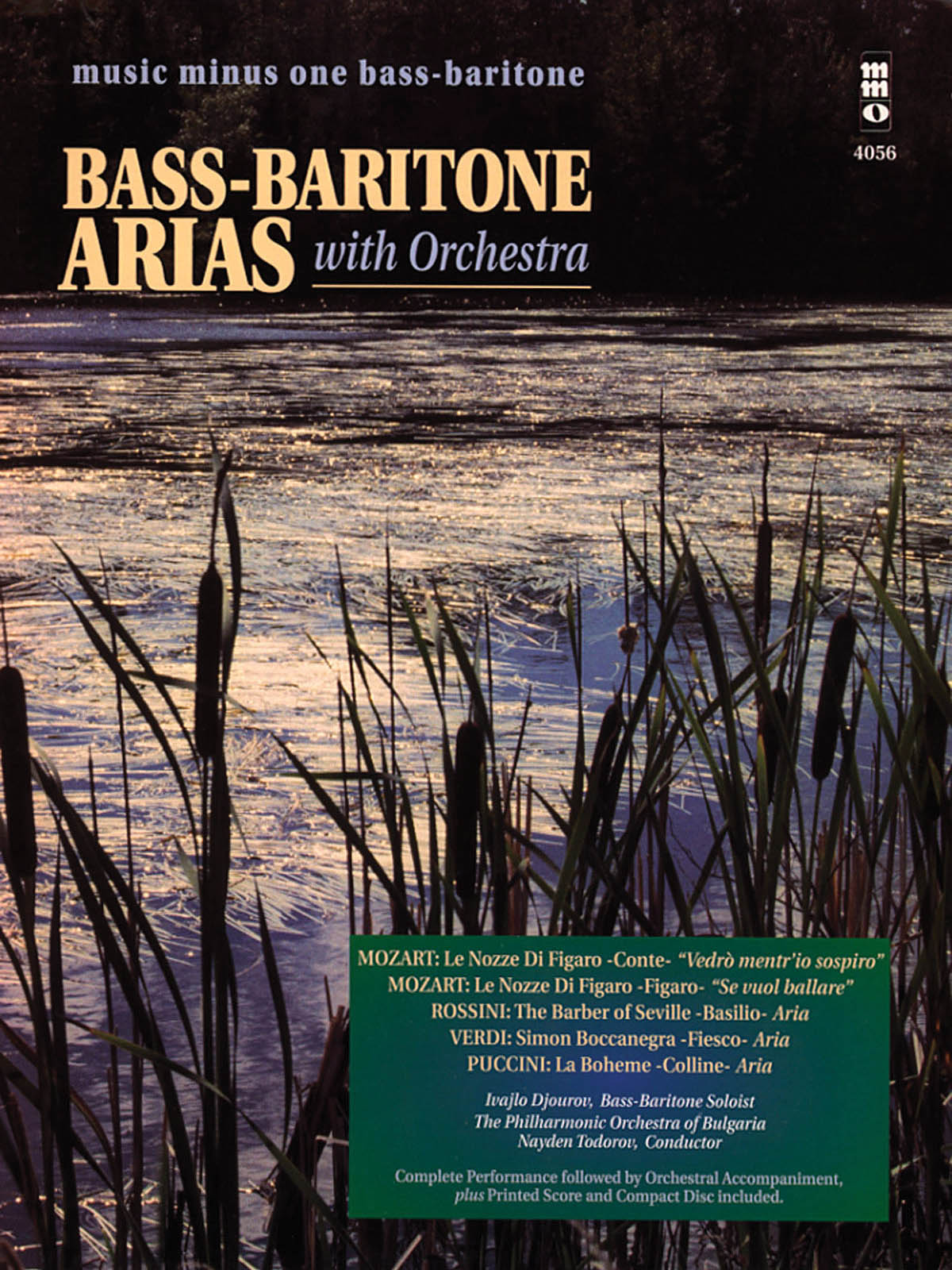 Bass-Baritone Arias with Orchestra - Volume 1: Vocal Solo: Vocal Collection