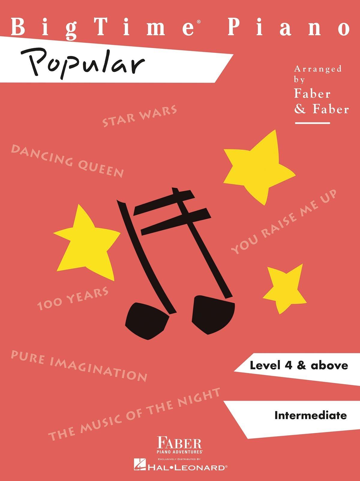 BigTime Piano Popular Level 4: Piano: Instrumental Album