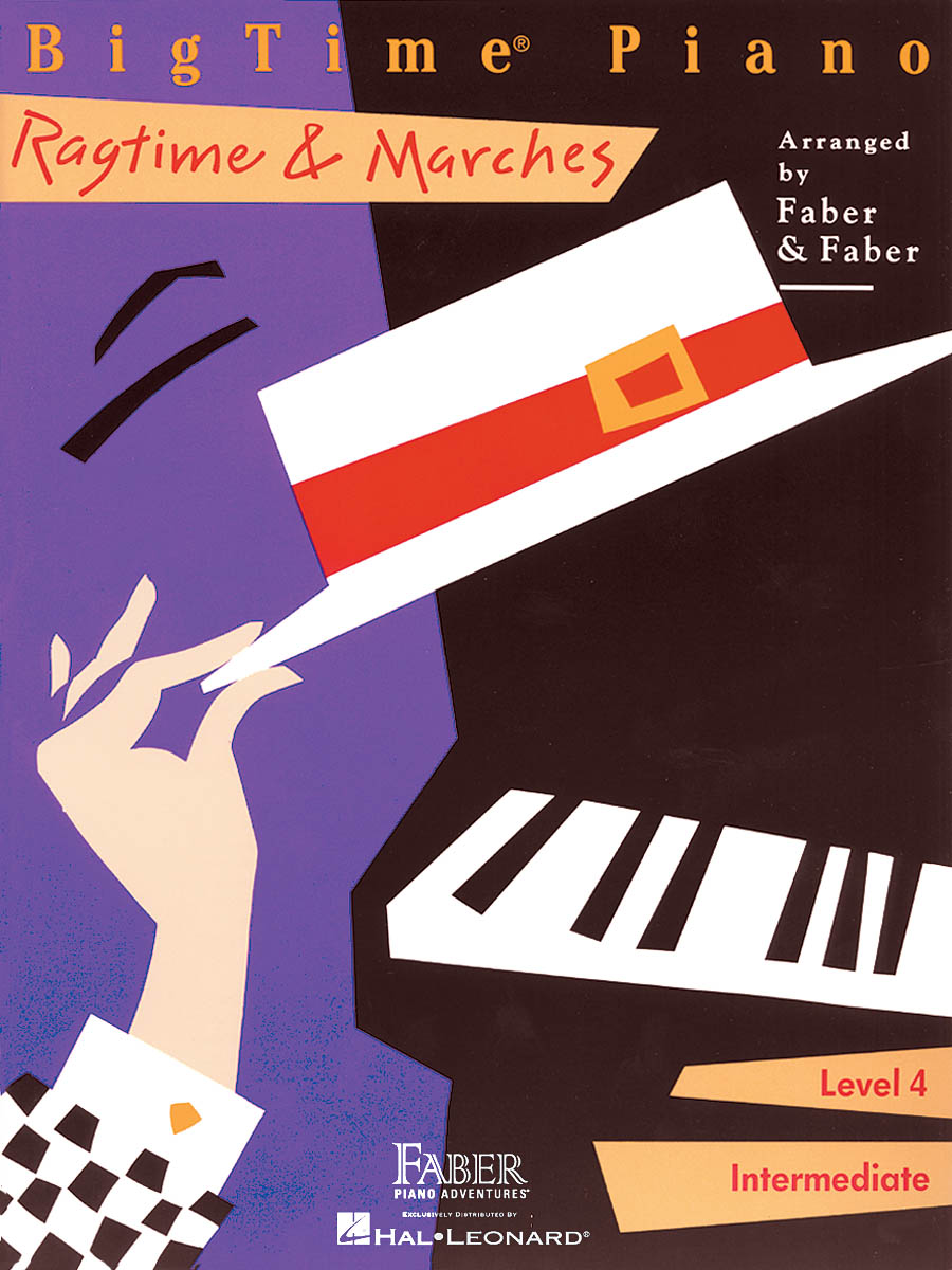 BigTime Piano Ragtime & Marches - Level 4: Piano: Instrumental Album