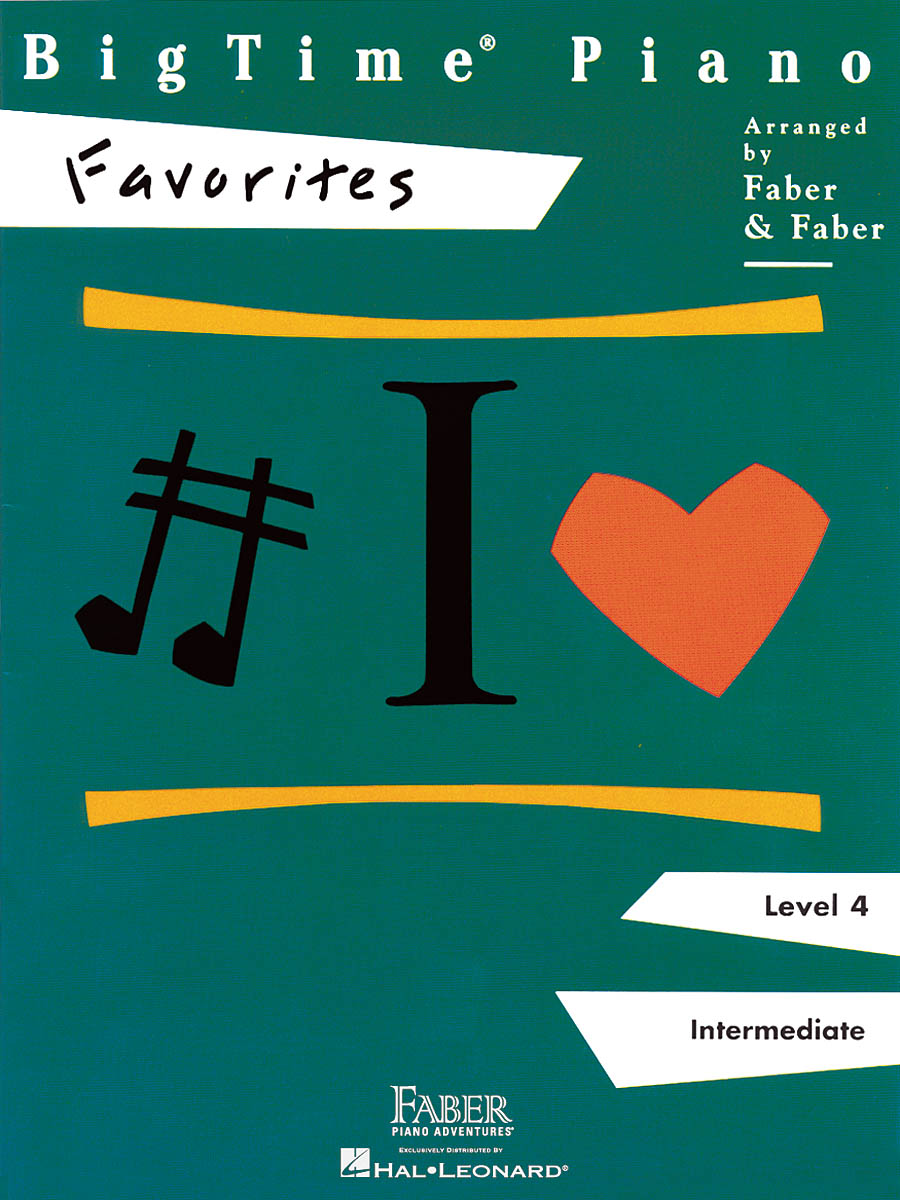 BigTime Piano Favorites - Level 4: Piano: Instrumental Album