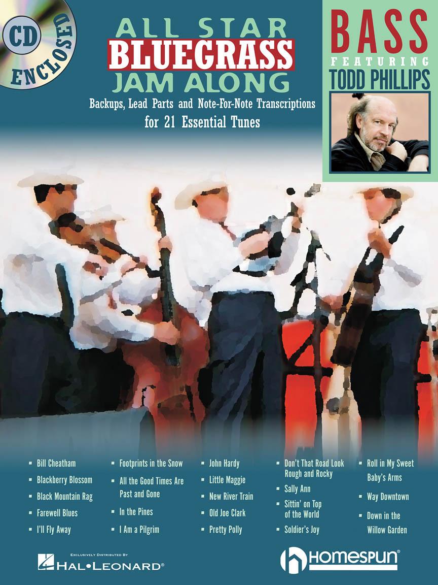 Todd Phillips: All Star Bluegrass Jam Along - Bass: Bass Guitar Solo: